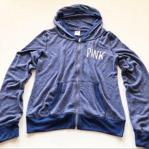 627ce3ca6fa PINK Victoria s Secret Tops - PINK Victoria Secret s Zip Up Hoody Medium